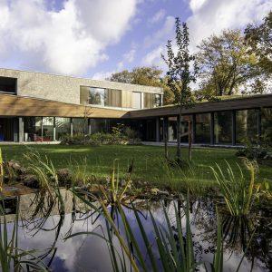 Villa mit Passivhausfenster in Holland
